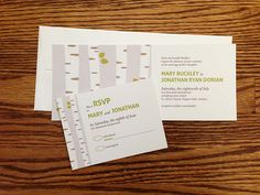 Horizontal Event Invitation Design http://www.invitationtwist.ca/