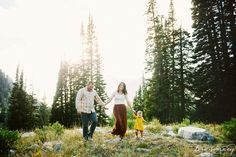 Lifestyle Family Session in the Utah Mountains | Lori Romney Photography