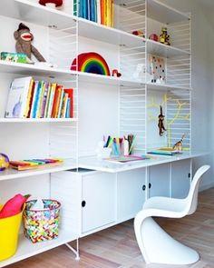 string shelf