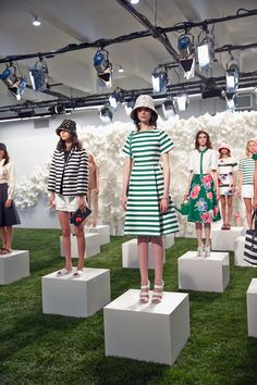 #behindthecurtain kate spade new york spring 2015