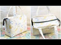 Handbag Patterns, Fabric Bags, Sewing Hacks, Bag Making, Diaper Bag, Stitch, How To Make, Baby Bunting Bag, Gingham Quilt