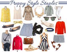 Preppy Style Staples
