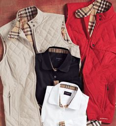 Burberry vest for some fall rounds?  yes please!