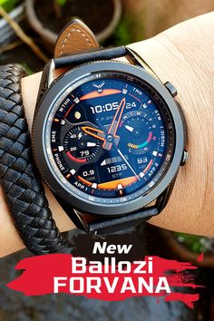 New Hybrid Watch Face for Galaxy Watch 3, GW, GW Active 1 & 2, and for Gear S3 Watch Faces, Gw, Samsung Galaxy, Watches, Wristwatches, Clocks