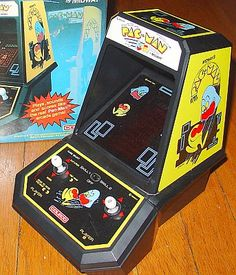 Pacman_mini arcade - one word WOW!