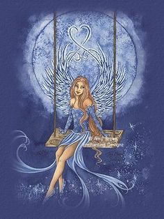 Amy Brown Fairy Moon Sprite   Amy Brown