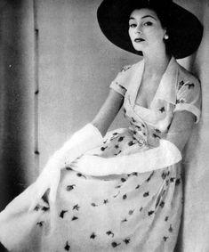 Fashion for Glamour magazine, 1951-1953