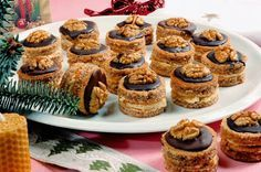 """Image: Restrictions: Not available for """"royalty free"""" licensing… Christmas Dishes, Christmas Sweets, Christmas Baking, Köstliche Desserts, Delicious Desserts, Dessert Recipes, Baking Recipes, Cookie Recipes, Romanian Desserts"""