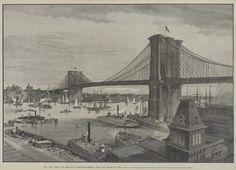 brooklyn bridge late 1800's