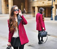 Get this look: http://lb.nu/look/5862215  More looks by Magdalena S: http://lb.nu/qofbeauty  Items in this look:  Sheinside Coat