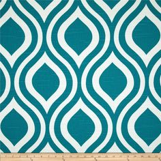 Premier Prints Emily Slub Aquarius from @fabricdotcom  Screen printed on cotton slub duck (slub cloth has a linen appearance); this versatile medium weight fabric is perfect for window accents (draperies, valances, curtains and swags), accent pillows, duvet covers, upholstery and other home decor accents. Create handbags, tote bags, aprons and more. *Use cold water and mild detergent (Woolite). Drying is NOT recommended - Air Dry Only - Do not Dry Clean. Colors include capri blue and white.
