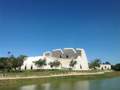 Mozarteum Brasilieiro Theatre: Open-Air Theater, Porto Seguro (Brasilien)  - Valentiny hvp Architects, 2014