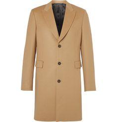 Slim-Fit Wool and Cashmere-Blend Coat | MR PORTER