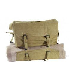 Italian Linen Blanket Bag Military Surplus cfe5717d3777e