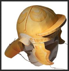 Roman Legionnaire's helmet free papercraft download