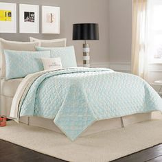 http://www.shopstyle.com: kate spade new york Charles Street Quilt, 100% Cotton