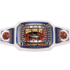 Chili Cook Off Champion Award Belts Product # AB502  Chili Cook Off Champion Award Belts. These lavish championship belts are perfect to recognize winners of a Chili Cook Off competition.