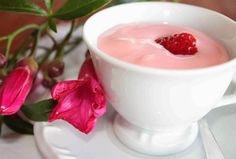 Danoninho caseiro - 4 ingredientes - Amando Cozinhar - Receitas, dicas de culinária, decoração e muito mais!