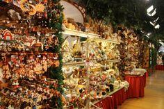 Tienda de adornos navideños en Rothenburg ob der Tauber