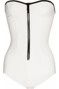 THE TREND EDIT SS2012 Game On No.15/25 LISA MARIE FERNANDEZ  The Leigh bandeau swimsuit