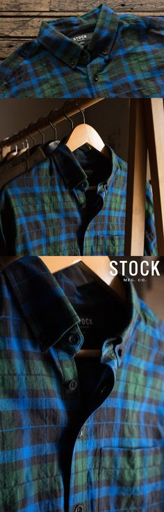 Handcrafted in Chicago from a lightweight 3 oz Japanese herringbone, these shirts will fit in just as well at your office as they do at a picnic or on the beach. Available in four timeless plaid patterns.