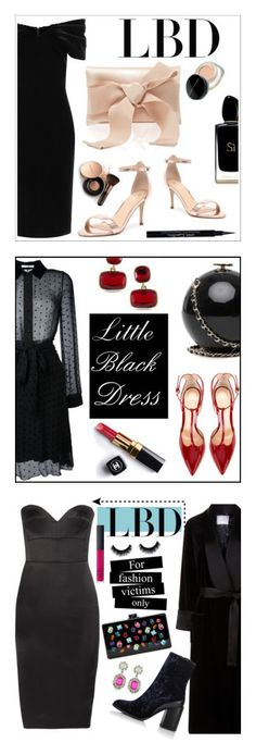 """""""Winners for Little Black Dress"""" by polyvore ❤ liked on Polyvore featuring Emilio De La Morena, Oscar de la Renta, Verali, Givenchy, Giorgio Armani, Marc Jacobs, Nude by Nature, LBD, polyvoreeditorial and Chanel"""