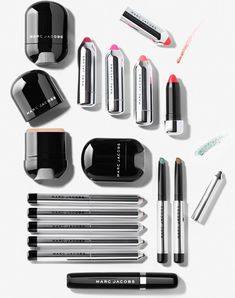Marc Jacobs Makeup Collection for Fall 2014 promo
