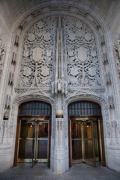 Tribune Tower façade, Chicago