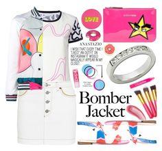 """Anastazio-summer bomber jackets"" by anastazio-kotsopoulos ❤ liked on Polyvore featuring J.W. Anderson, Sonia Rykiel, Mira Mikati, Dsquared2, Fendi, Anastazio, Lisa Perry and Yves Saint Laurent"