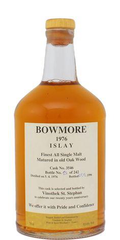 1976 - Bowmore Islay Whisky