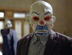 heath ledger joker mask   Bank Robber Joker Mask