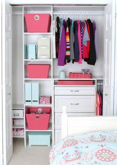 Pretty closet  via @Justa Girl