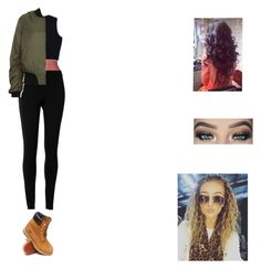 """""""Untitled #282"""" by selena-123 ❤ liked on Polyvore featuring Max Studio, Timberland and Topshop"""