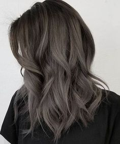 Fabulous Layered Dark Grey Hairstyles 2018 for Women #homecominghairstyles