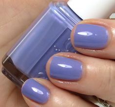 """""""Using My Maiden Name"""" — blue hydrangea with slight lavender pearl (Essie Bridal Collection 2013 