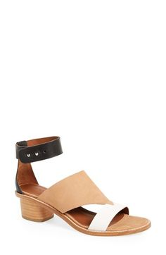 ARRICCI+'Nalani'+Low+Leather+Ankle+Strap+Sandal+(Women)+available+at+#Nordstrom
