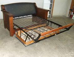 Antique Kroehler Duofold Sofa Bed Circa 1915 254217773 1910s Amp 1920s Antiques In