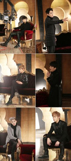"B.A.P filming ""1004/Angel"""