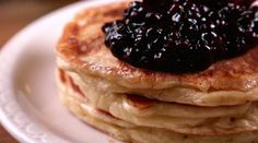 Ron Silver of Bubbys in NYC shows you how to make their famous Blueberry pancakes!