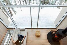 La-Maison-Haute-7 Pergola, Barn, Loft, Home Appliances, Windows, House, Trendy Tree, Houses, Minimalist