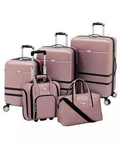 Southbury II Hardside Luggage Collection, Created for Macy's Luggage Sets Cute, Luggage Sale, Best Luggage, Travel Luggage, Luxury Luggage, Calpak Luggage, Hard Sided Luggage, Best Suitcases, Suitcase Set