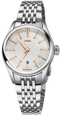 @oris Watch Artelier Lady Date Bracelet Pre-Order #basel-16 #bezel-fixed #bracelet-strap-steel #brand-oris #case-material-steel #case-width-28mm #date-yes #delivery-timescale-1-2-weeks #description-done #dial-colour-silver #gender-ladies #luxury #movement-automatic #new-product-yes #official-stockist-for-oris-watches #packaging-oris-watch-packaging #pre-order #pre-order-date-30-06-2016 #preorder-june #style-dress #subcat-artelier #supplier-model-no-01-561-7722-4031-mb…