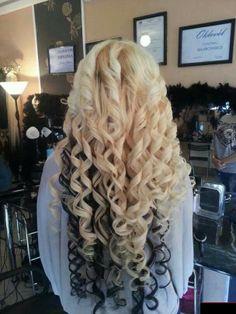 Pretty spiral curls!!
