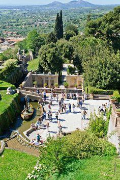 Villa d'Este à Tivoli, Lazio, Italy