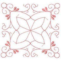OregonPatchWorks.com - Sets - Redwork Quilt Blocks 12 block patterns for $25