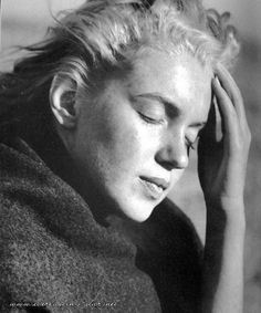 Marilyn ~ captures the sadness that was such a part of her {André de Dienes}