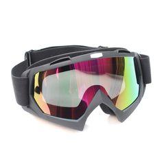 8226001cecfa3 Óculos Preto com Lente Espelhada para Capacete - Off Road   Motocross.  ---------------------------------------------- Black Sunglasses with Mirror  Lens for ...