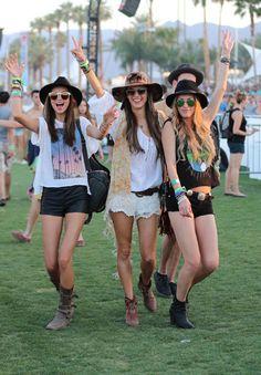 VS models at Coachella 2013 Weekend 1