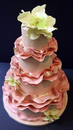 A unique cake made with layers of lunch meat in between the cake. YUM gotta s try this