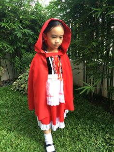 Little red riding hood for star day in school. #ootd #fashionkids #kidsfashion